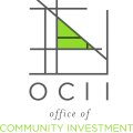 Office of Community Investment and Infrastructure  Successor to the San Francisco Redevelopment Agency logo